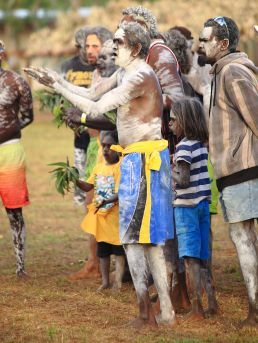 Clan ceremony begins