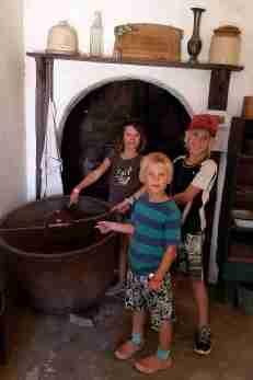 Porridge pot at the mission