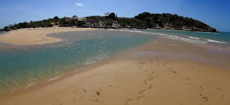 Island at Woody Beach
