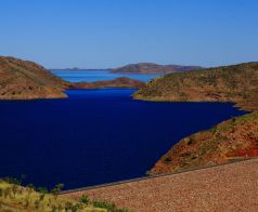 Lake Argyle from lookout