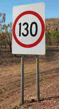 NT Speed limit