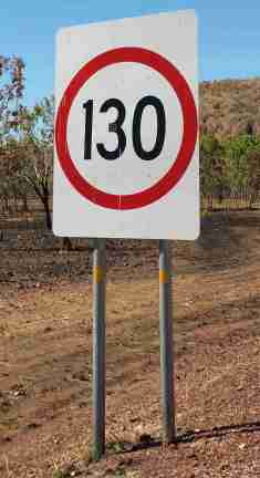NT Speed limit