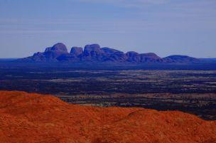 Kaja Tjuta from Uluru