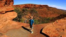 Oscar at Kings Canyon