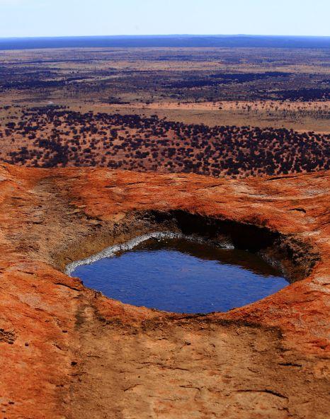 Pool on Uluru