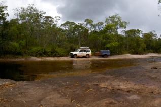Approaching Bertie Creek crossing