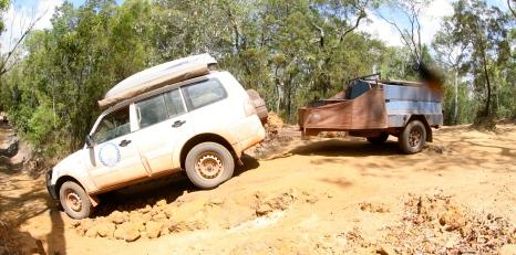 Entering Cockatoo Creek