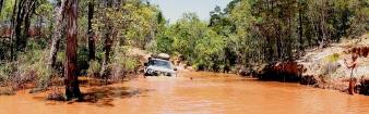 Scrubby creek ford!