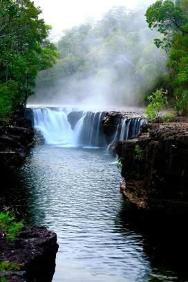 Eliot Falls at dawn