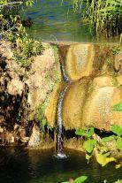 Tufa dam at Indarri falls
