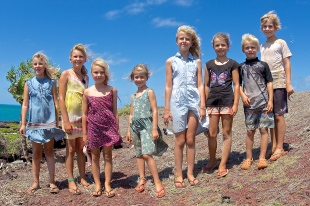 SDEPS kids at Fly Point, Cape York