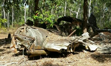 DC3 Bomber wreckage