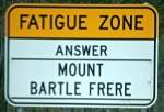 Roadside trivia