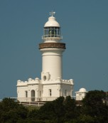 The lighthouse at Byron Bay