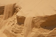 The sand keeps moving