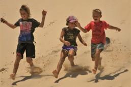 Fun in the dunes