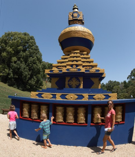 The world peace Stupa