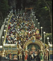 The stairs to Batu Caves
