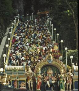 The stairs to Batu Caves