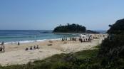 Seal Rocks beach