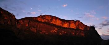 sunset at Coorongooba