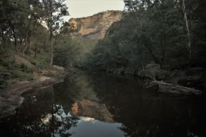 Capertee river
